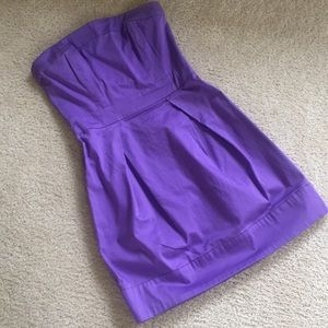 French connection purple dress 2